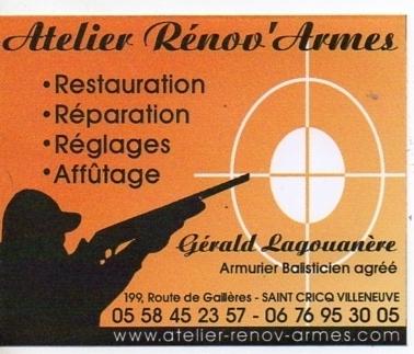 Armurerie Atelier Rénov'Armes